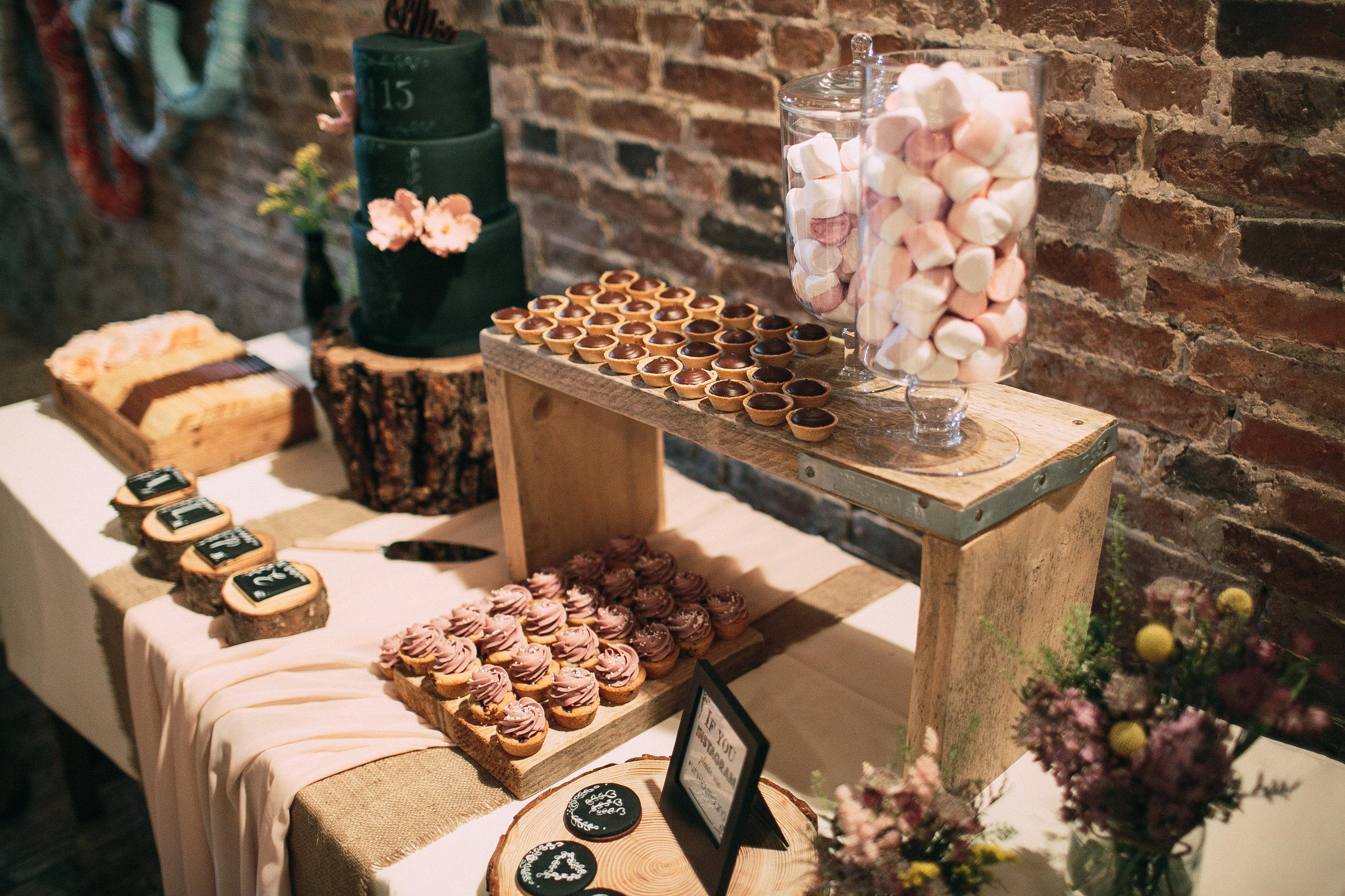 Wedding treat tables Derby