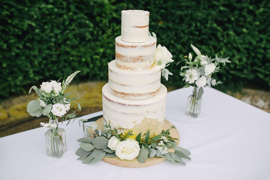 Naked wedding cakes Nottingham