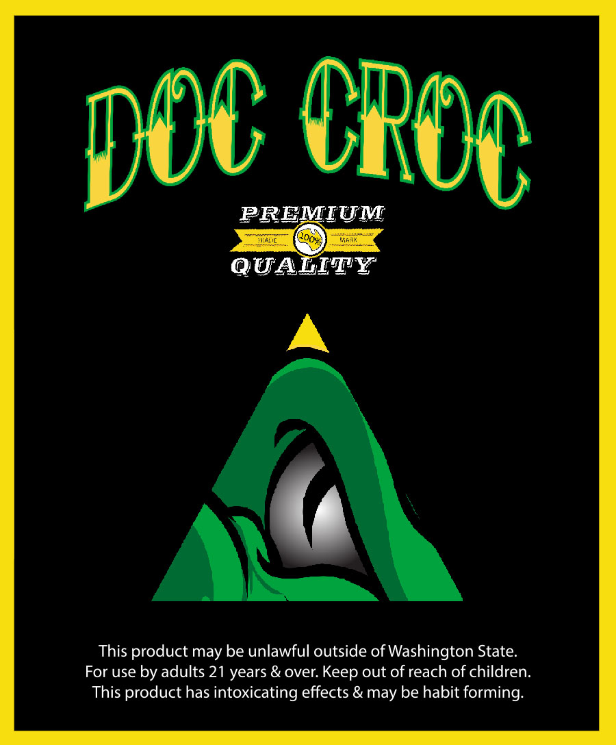 1st Place: Doc Croc - Crater Lake #1