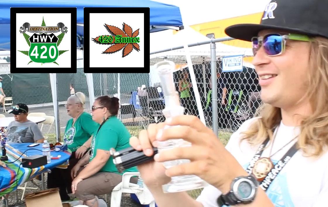 Leaf Werx at 7/10 Dab Day event
