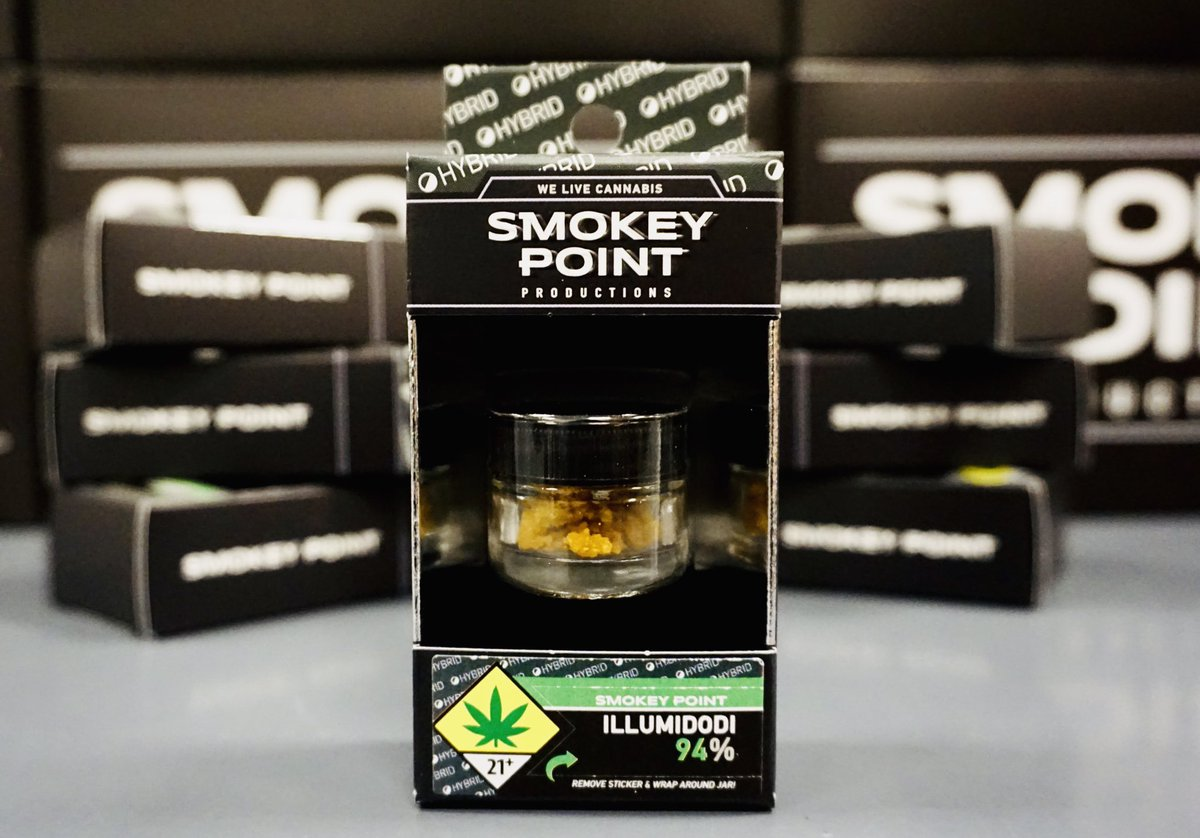 Smokey Point Productions produces extremely potent, flavorful, and smooth cannabis concentrates. Their concentrates come in a variety of forms such as crumble, shatter, and sugar wax. SPP concentrates are made from high end buds from strains such as Cinderella's Dream, Illumidodi, and Plushberry. To learn more about Smokey Point concentrates, visit our store in Kitsap County, WA.