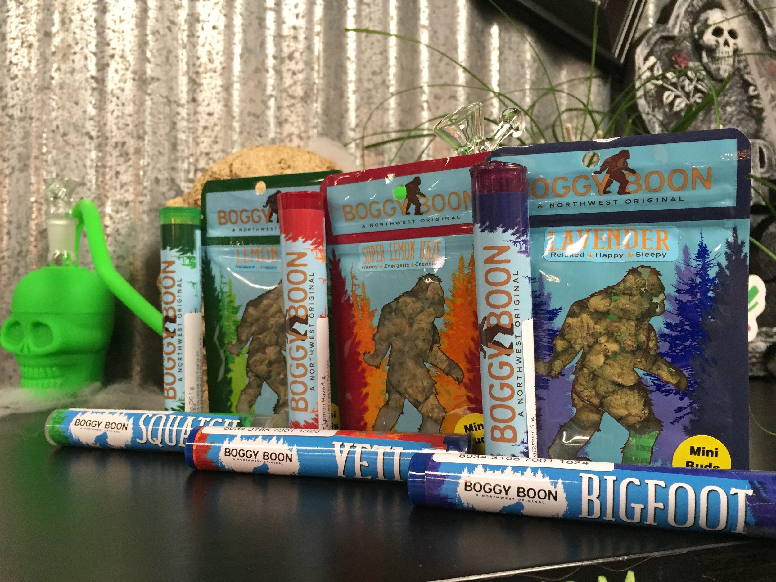 Boggy Boon- Marijuana Flower & Prerolled Joints