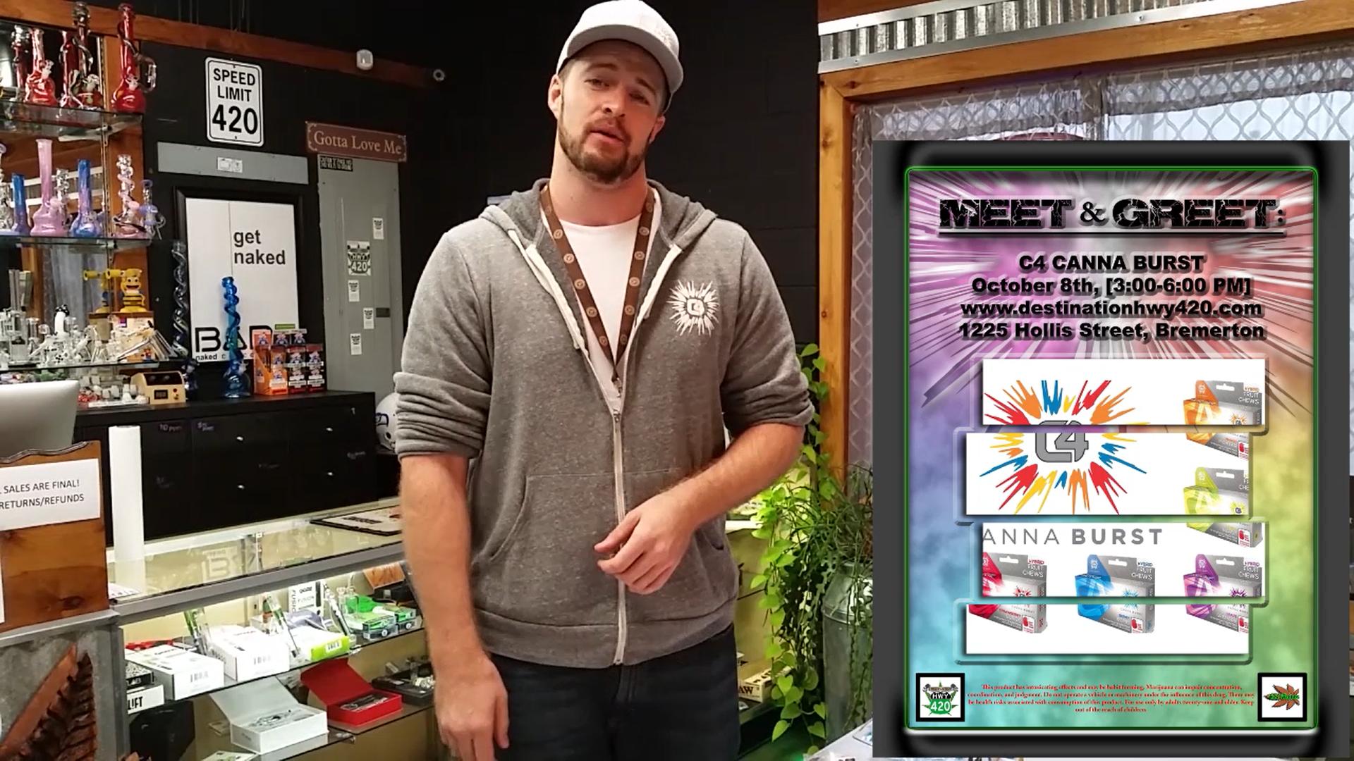 C4 Canna Burst - Meet The Cannabis Vendor