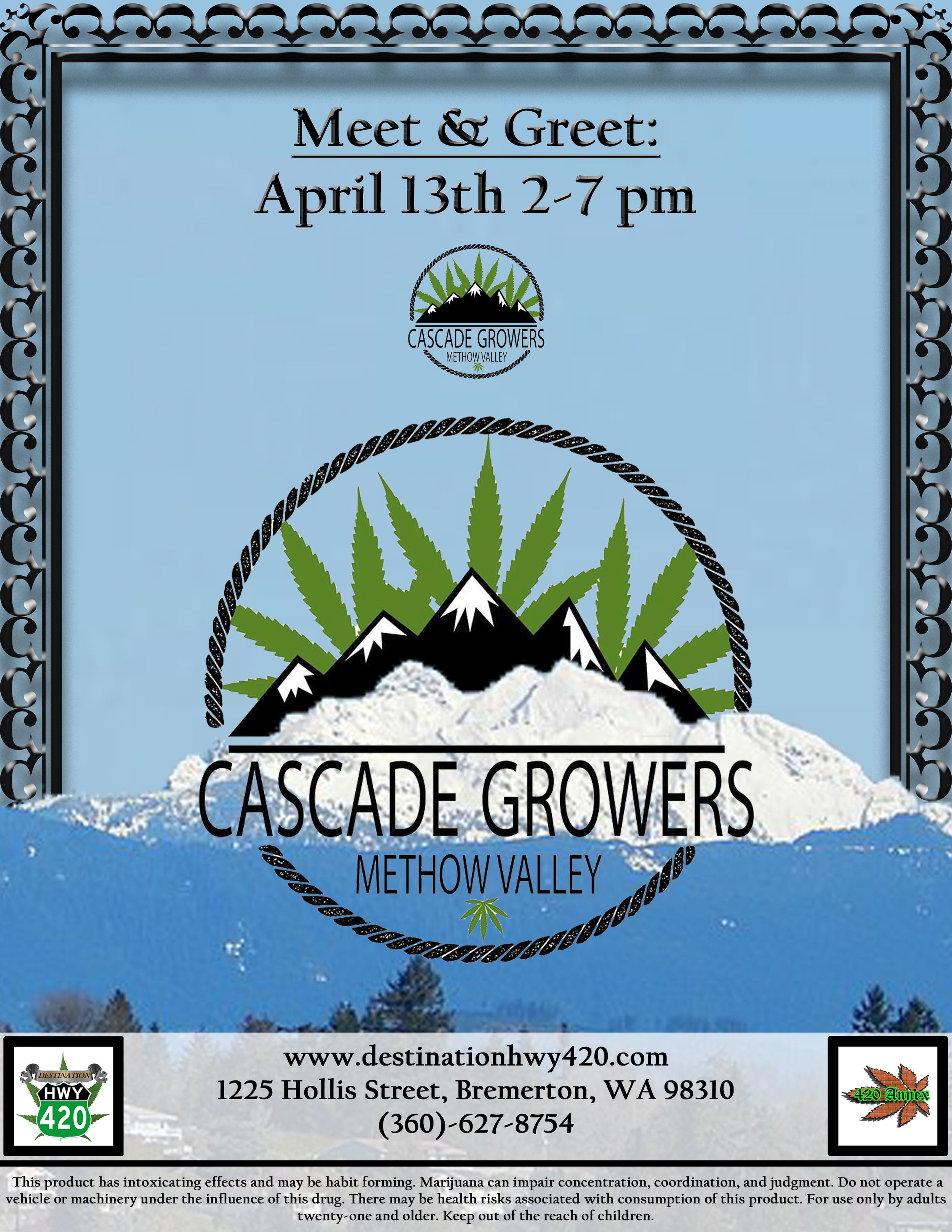 Cascade Growers- Marijuana Flower, Prerolled Joints, Concentrates