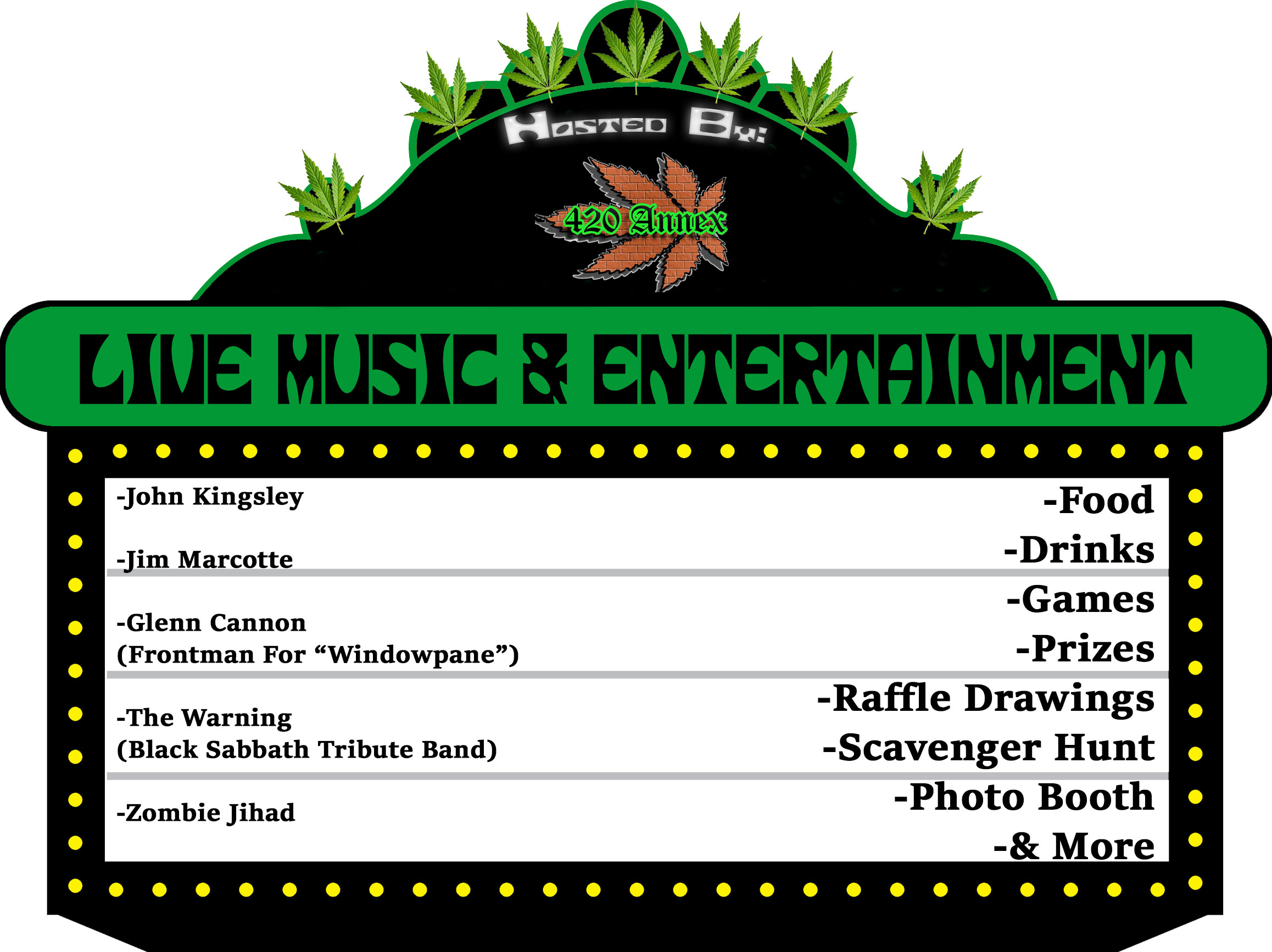 The 420 Annex's 2019 4/20 Fair is the biggest and best Kitsap Cannabis Community event in our area of Washington! The 4/20 Fair will have lots of entertainment such as live music, food, drinks, games, prizes, raffle drawings, scavenger hunts, photo booths, and more. This event is free to attend. Join us and the rest of your Best Buds for this super fun International Cannabis Culture Holiday!