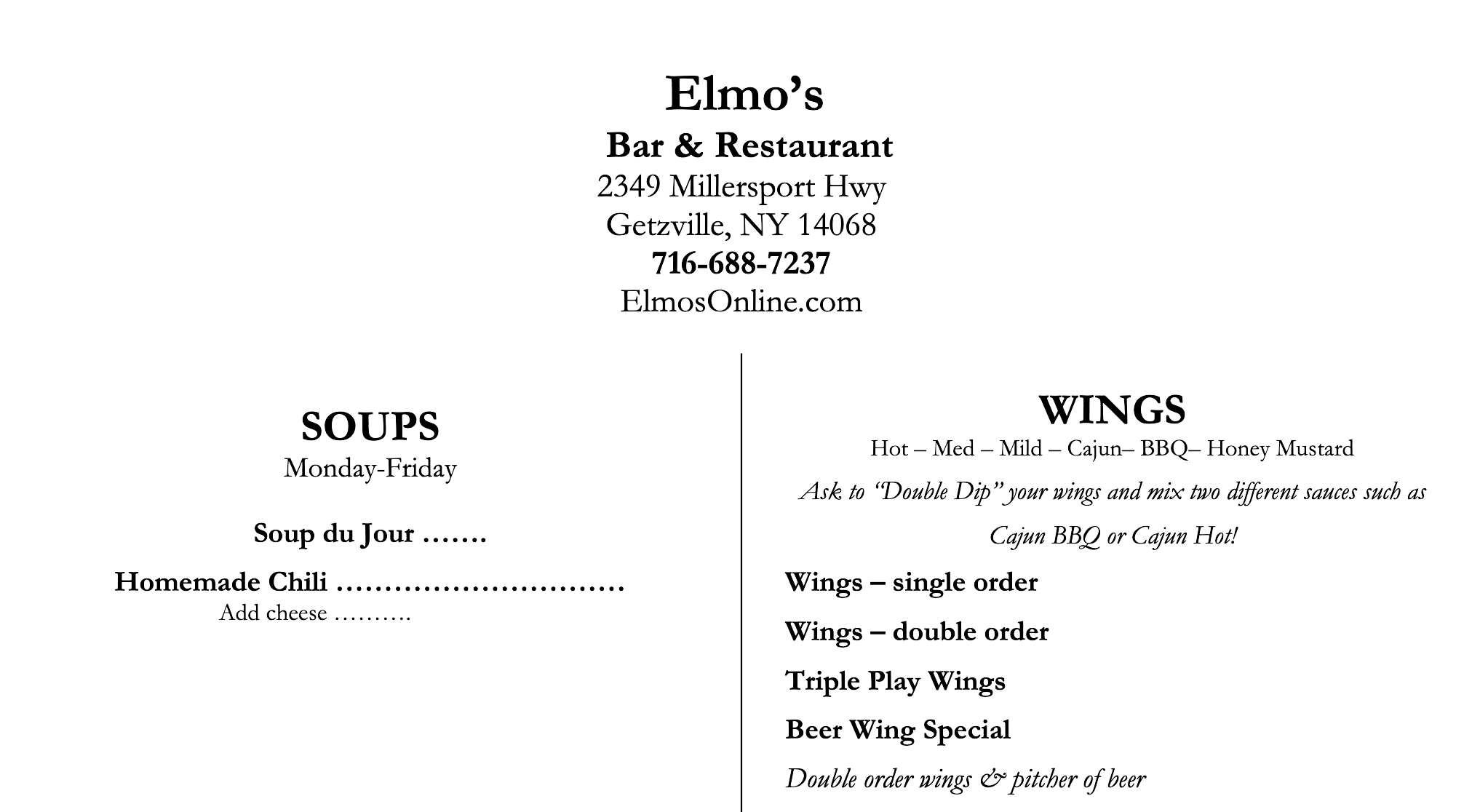 Elmo's Bar and Restaurant Menu Edit.png