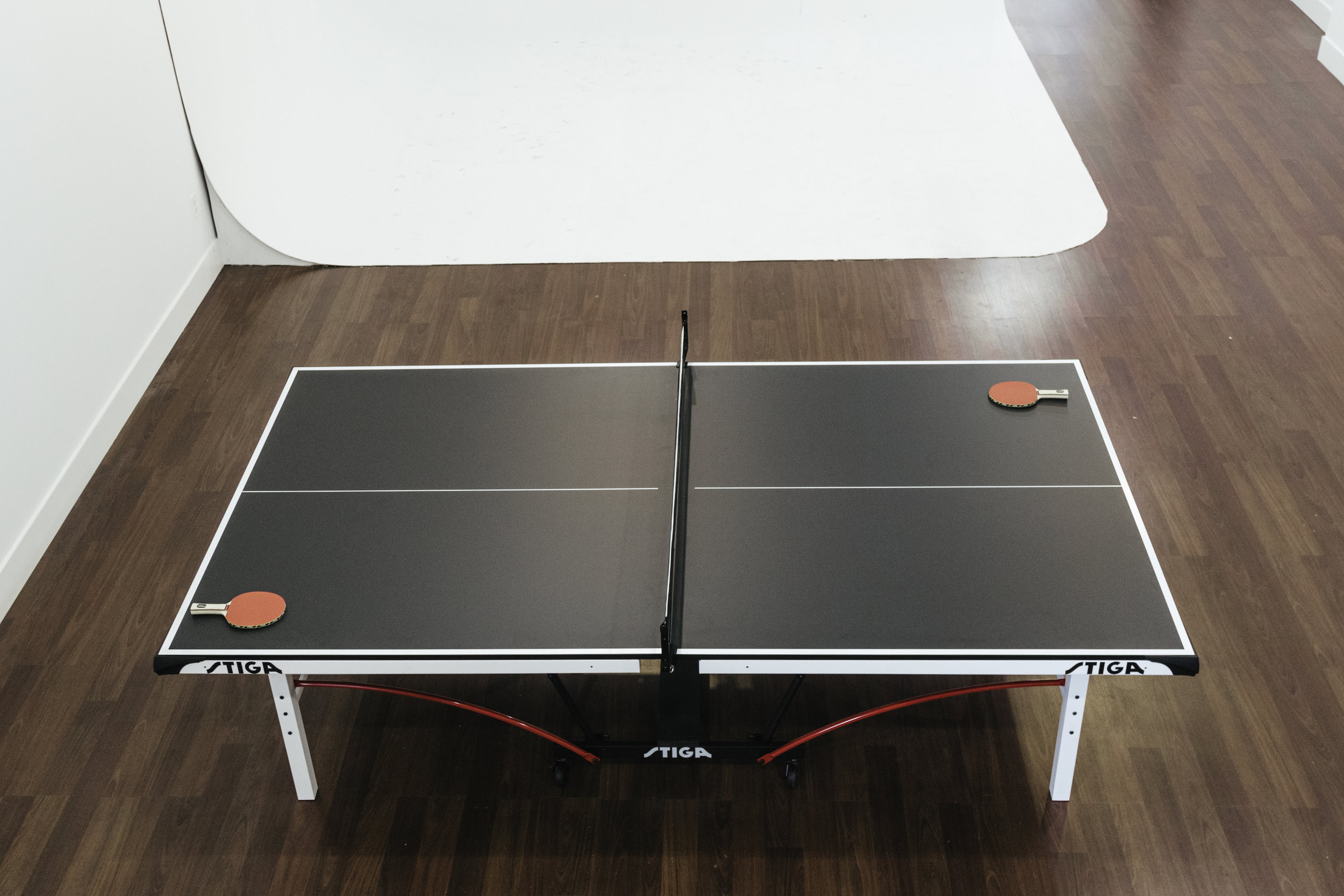 The Table - Wind down with a friendly game of ping pong.