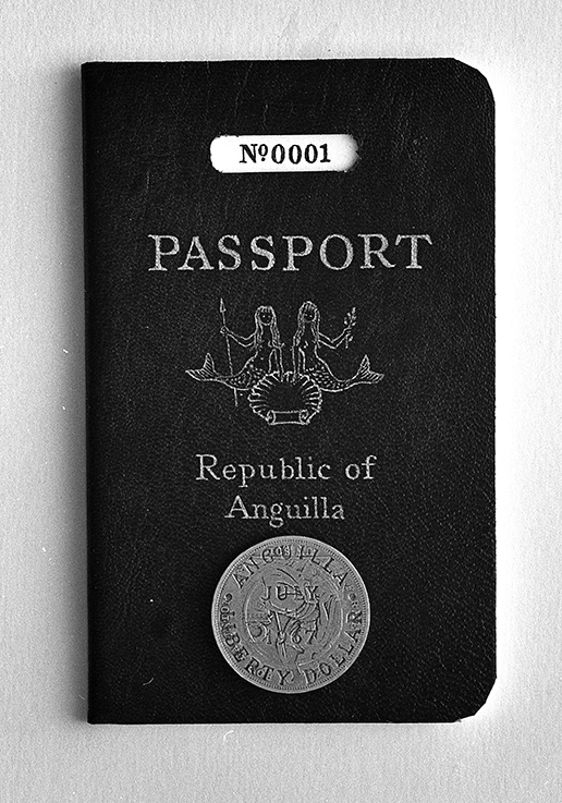 Republic of Anguilla passport