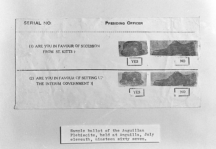 Ballot of the Anguillan Flebiscite
