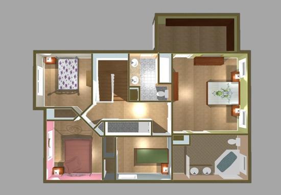 Floor Plan - 2nd Level