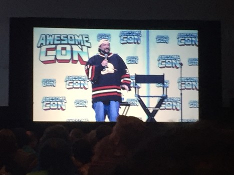 Kevin Smith at Awesome Con, Laura Hurley/Awesome Con