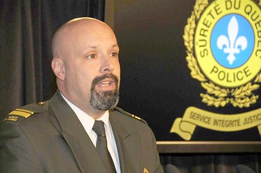 Lt Guy Lapointe Photo: Journal de Montréal