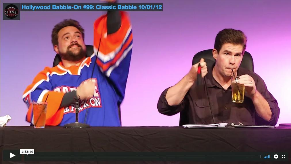 Hollywood Babble-On #99: Clasic babble 10/01/12