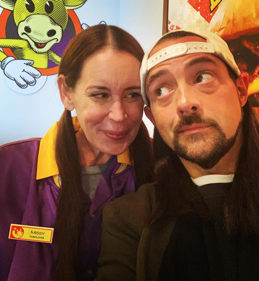 Jennifer Schwalbach and Kevin Smith