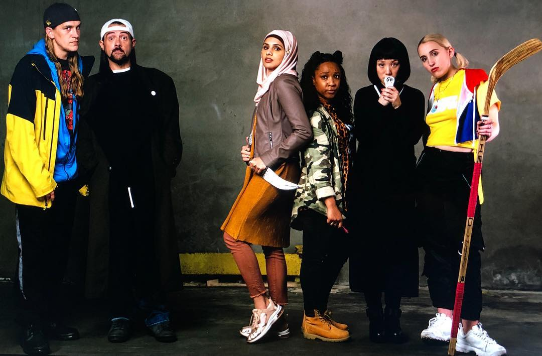 Jason Mewes, Kevin Smith, aparna brielle, Treshelle Edmond, Alice Wen, Harley Quinn Smith