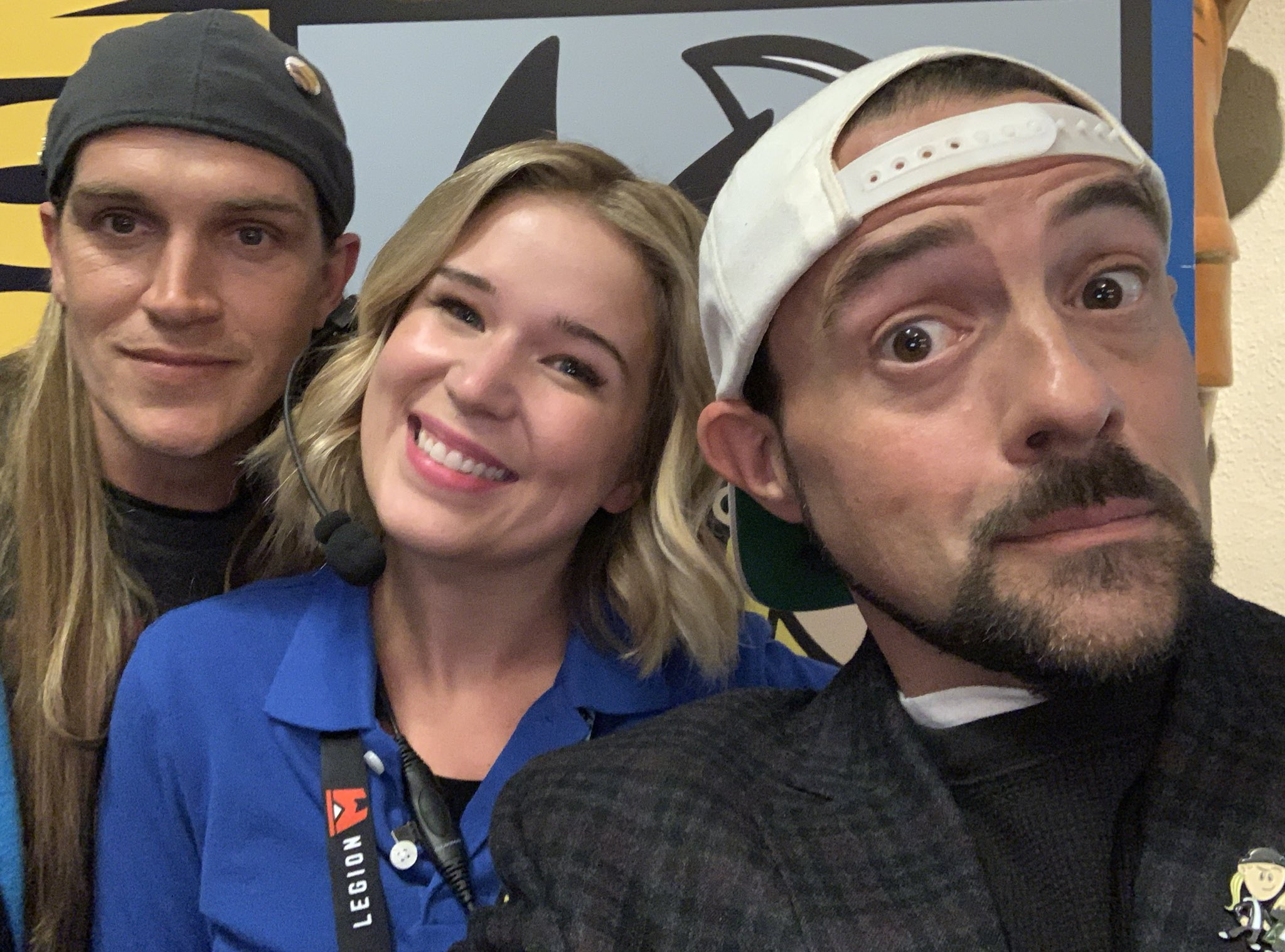Jason Mewes, Leah Knauer, Kevin Smith