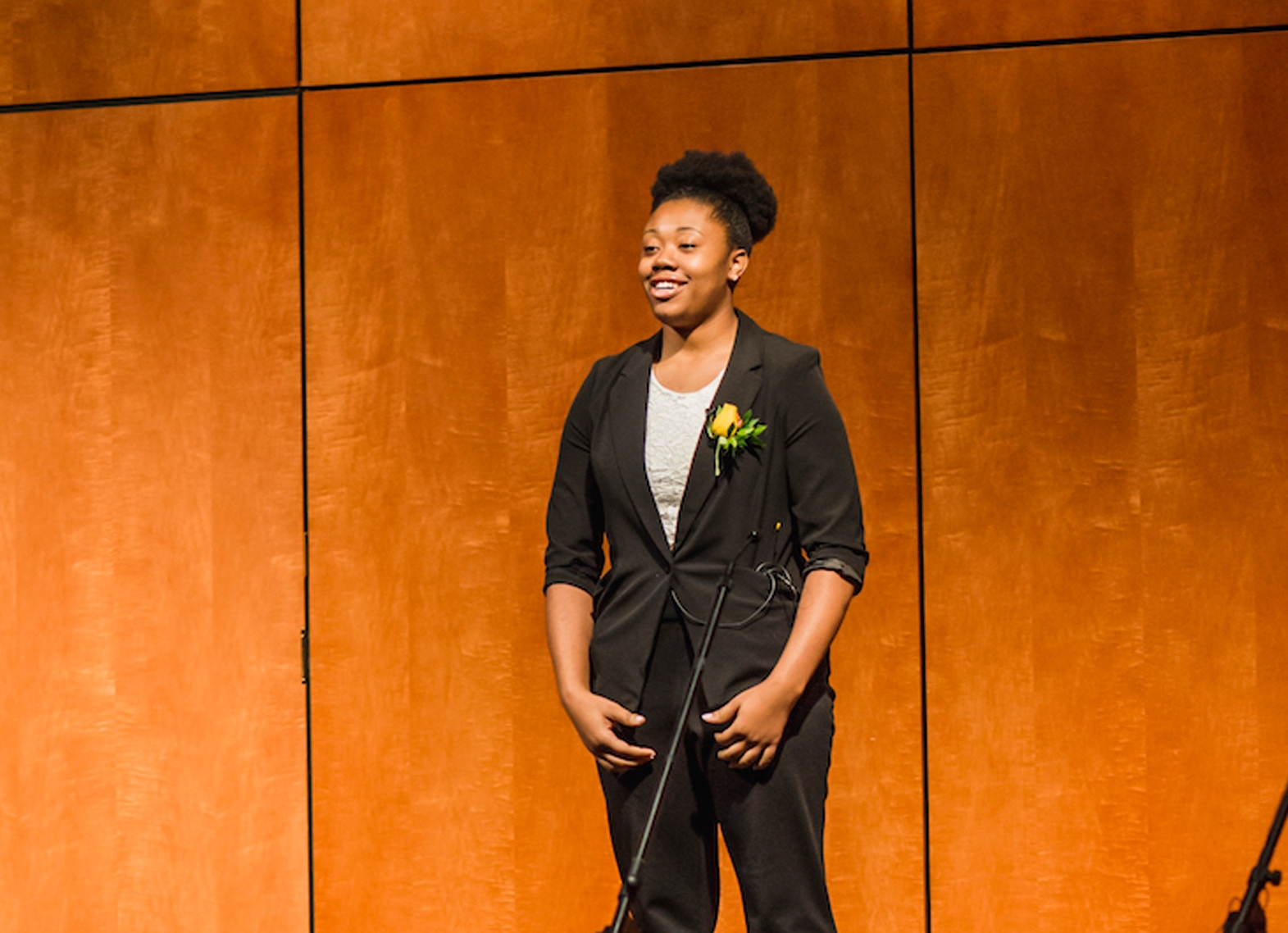 "Jasimine had a memorable performance at last spring's BGCMR Live! with her poem, ""The Power Within"""
