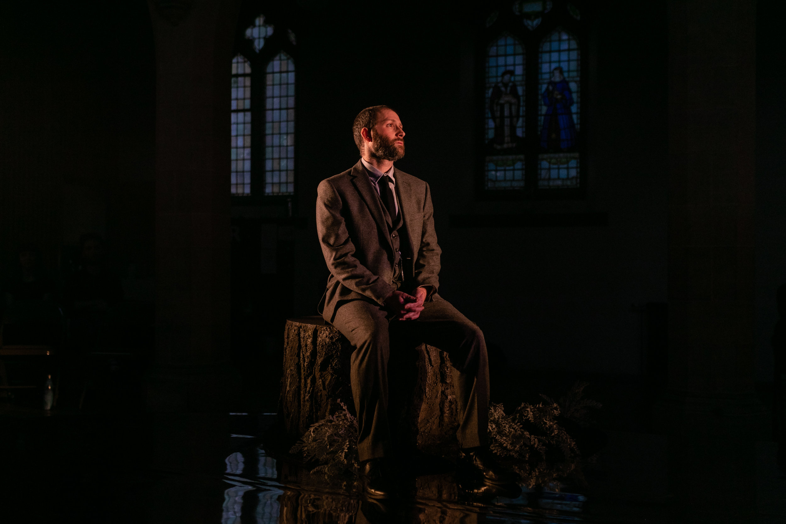 Julian Debreuil as Lord Talbot, Maria Stuarda OperaUpClose 2019.jpg