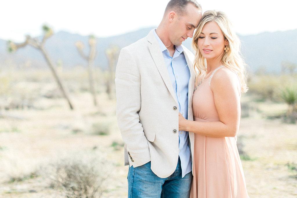 Joshua Tree Engagement Session | What to Wear for Pictures | Southern California Wedding Photographer | Mastin Labs Fuji Film | Fine Art Photographer | Desert Shoot | Beautiful Posing.jpg