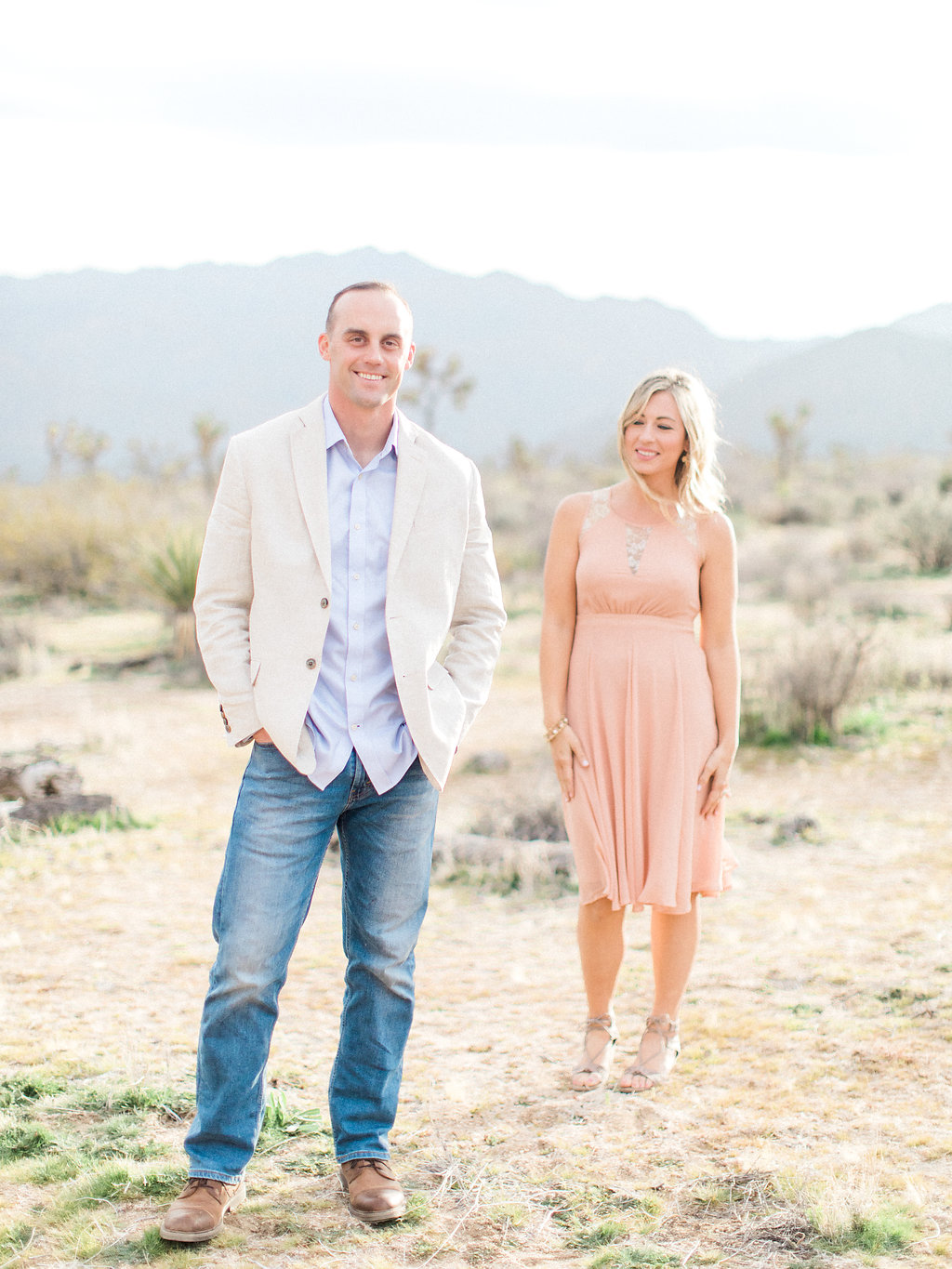 Joshua Tree Engagement Session | What to Wear for Pictures | Southern California Wedding Photographer | Mastin Labs Fuji Film | Fine Art Photographer | Desert Shoot | Handsome.jpg