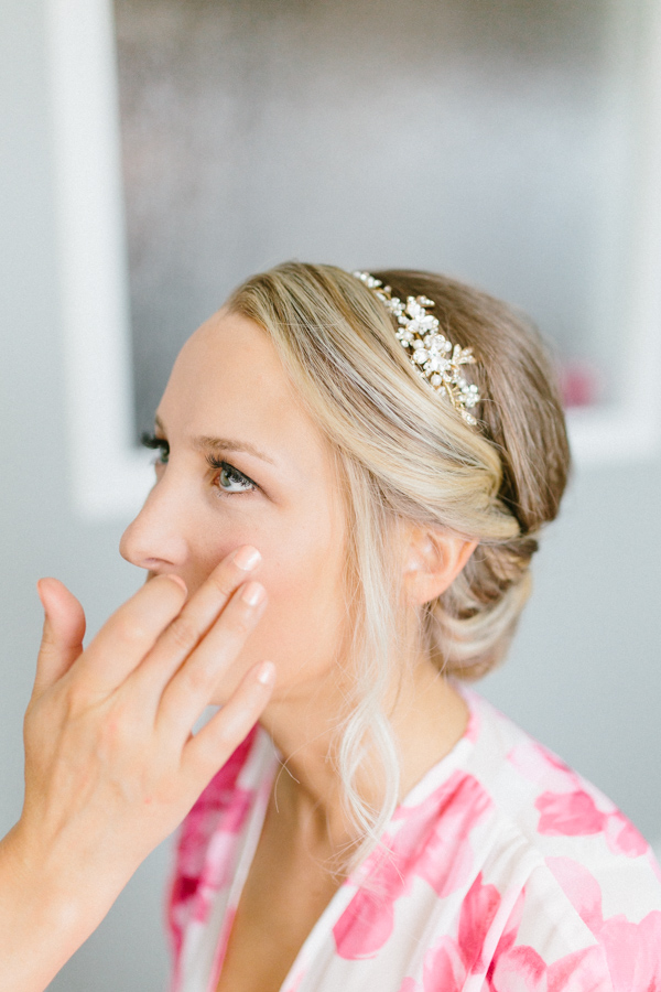 Intimate Backyard Blush Fairytale Wedding | Wenatchee Wedding Photographer | Fine Art Seattle Wedding Photographer | Blush Wedding | Bridesmaids Getting Ready