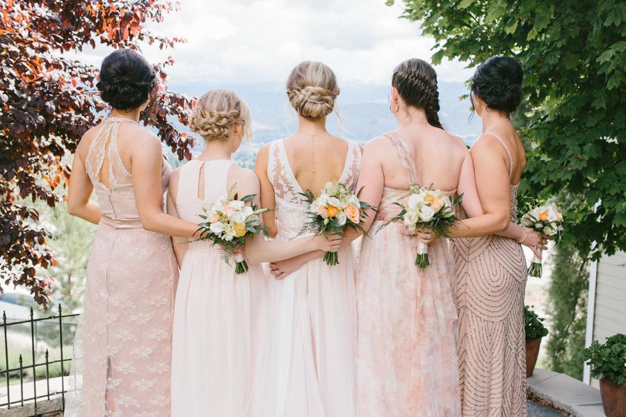 Intimate Backyard Blush Fairytale Wedding | Wenatchee Wedding Photographer | Fine Art Seattle Wedding Photographer | Blush Wedding | Wedding Details | Getting Ready | Blush Bridesmaid Dresses