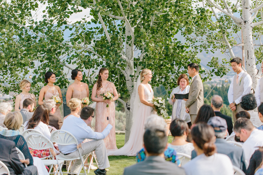 Intimate Backyard Blush Fairytale Wedding | Wenatchee Wedding Photographer | Fine Art Seattle Wedding Photographer | Blush Wedding | Wedding Details | Outdoor Ceremony