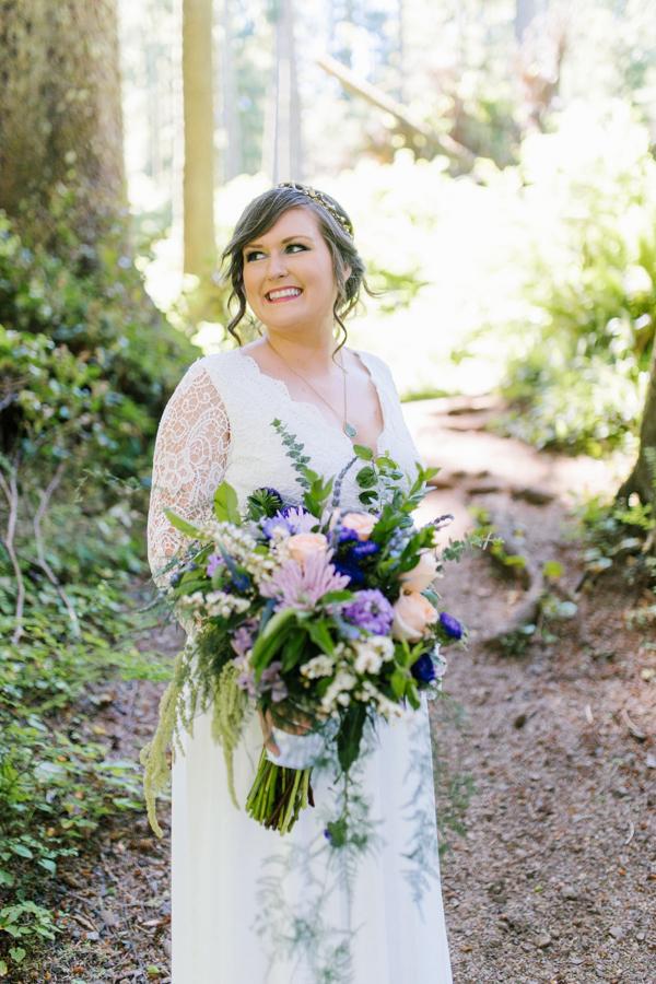 Oceanside Oregon Beach Wedding Details | Mermaid Wedding | Oregon Wedding on the Coast | Oregon Bride | Wedding Details | Bridal Party Portraits | Forest First Look-2.jpg