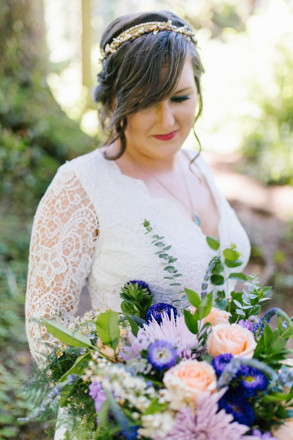 Oceanside Oregon Beach Wedding Details | Mermaid Wedding | Oregon Wedding on the Coast | Oregon Bride | Wedding Details | Bridal Party Portraits | Forest First Look-3.jpg