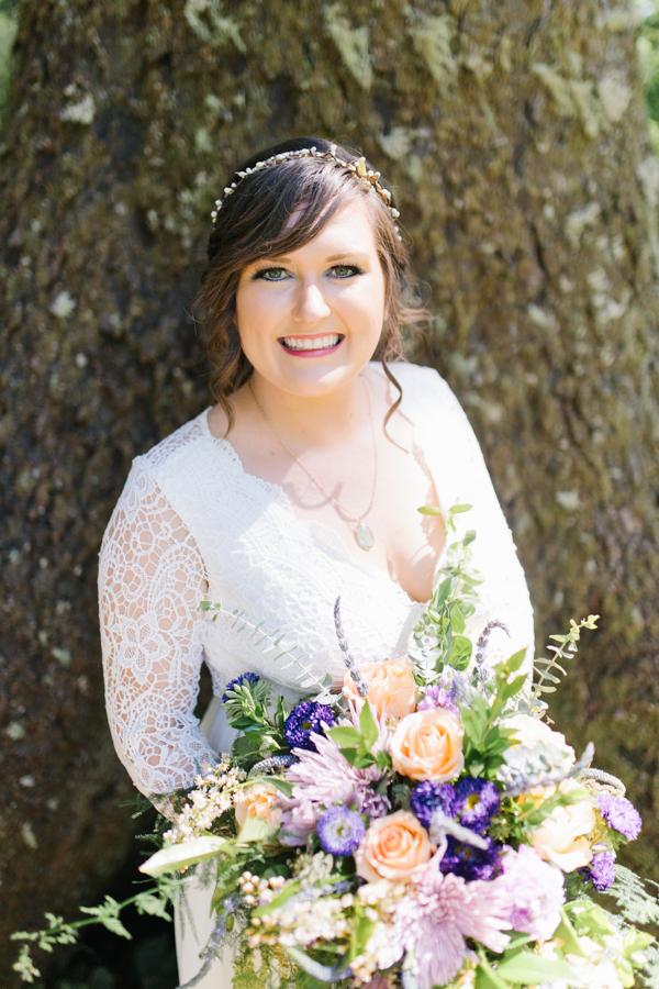 Oceanside Oregon Beach Wedding Details | Mermaid Wedding | Oregon Wedding on the Coast | Oregon Bride | Wedding Details | Bridal Party Portraits | Forest First Look-7.jpg