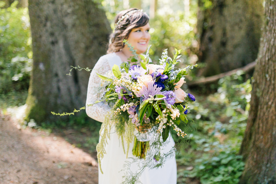 Oceanside Oregon Beach Wedding Details | Mermaid Wedding | Oregon Wedding on the Coast | Oregon Bride | Wedding Details | Bridal Party Portraits | Forest First Look-11.jpg