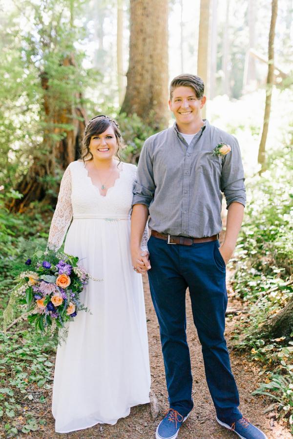 Oceanside Oregon Beach Wedding Details | Mermaid Wedding | Oregon Wedding on the Coast | Oregon Bride | Wedding Details | Bridal Party Portraits | Forest First Look-17.jpg