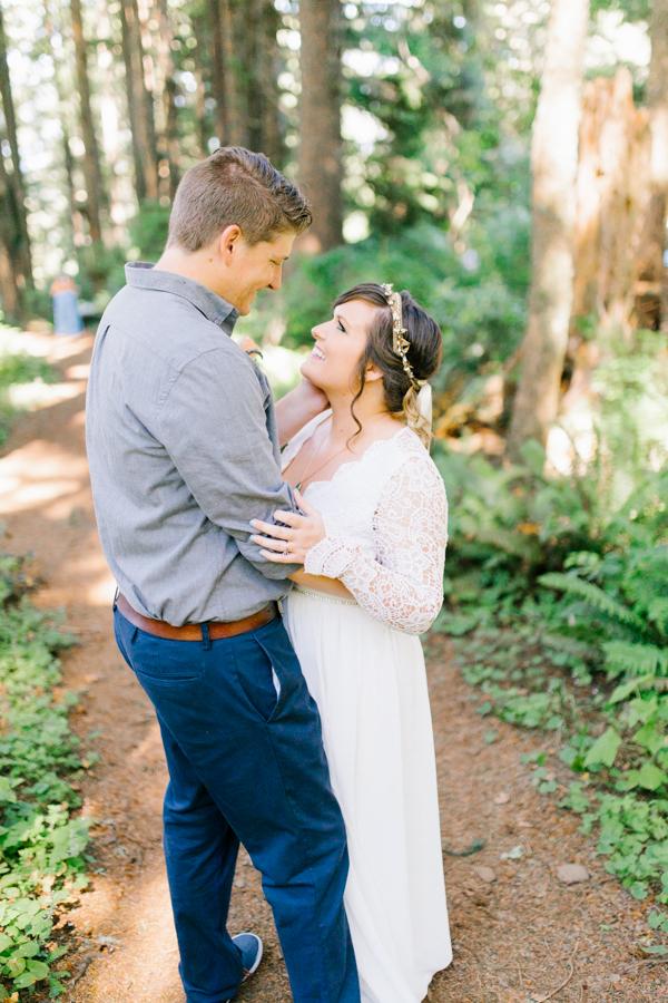 Oceanside Oregon Beach Wedding Details | Mermaid Wedding | Oregon Wedding on the Coast | Oregon Bride | Wedding Details | Bridal Party Portraits | Forest First Look-21.jpg