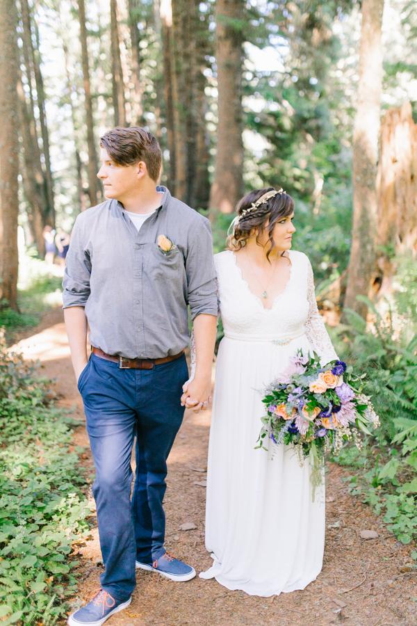 Oceanside Oregon Beach Wedding Details | Mermaid Wedding | Oregon Wedding on the Coast | Oregon Bride | Wedding Details | Bridal Party Portraits | Forest First Look-24.jpg