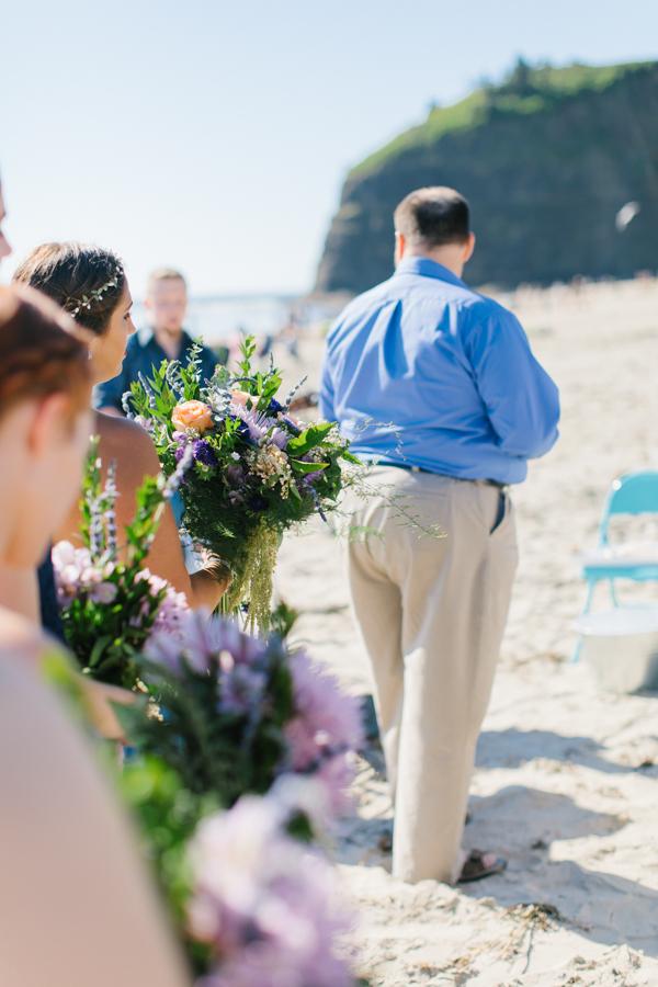 Oceanside Oregon Beach Wedding Details | Mermaid Wedding | Oregon Wedding on the Coast | Oregon Bride | Wedding Details | VSCO | Ceremony on the Beach-15.jpg