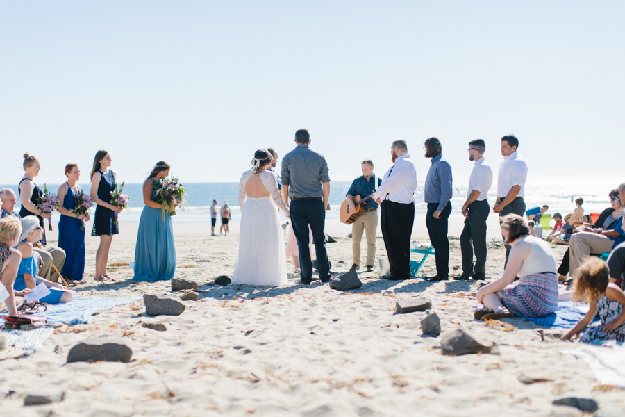 Oceanside Oregon Beach Wedding Details | Mermaid Wedding | Oregon Wedding on the Coast | Oregon Bride | Wedding Details | VSCO | Ceremony on the Beach-14.jpg