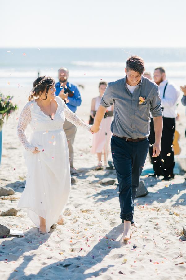 Oceanside Oregon Beach Wedding Details | Mermaid Wedding | Oregon Wedding on the Coast | Oregon Bride | Wedding Details | VSCO | Ceremony on the Beach-21.jpg