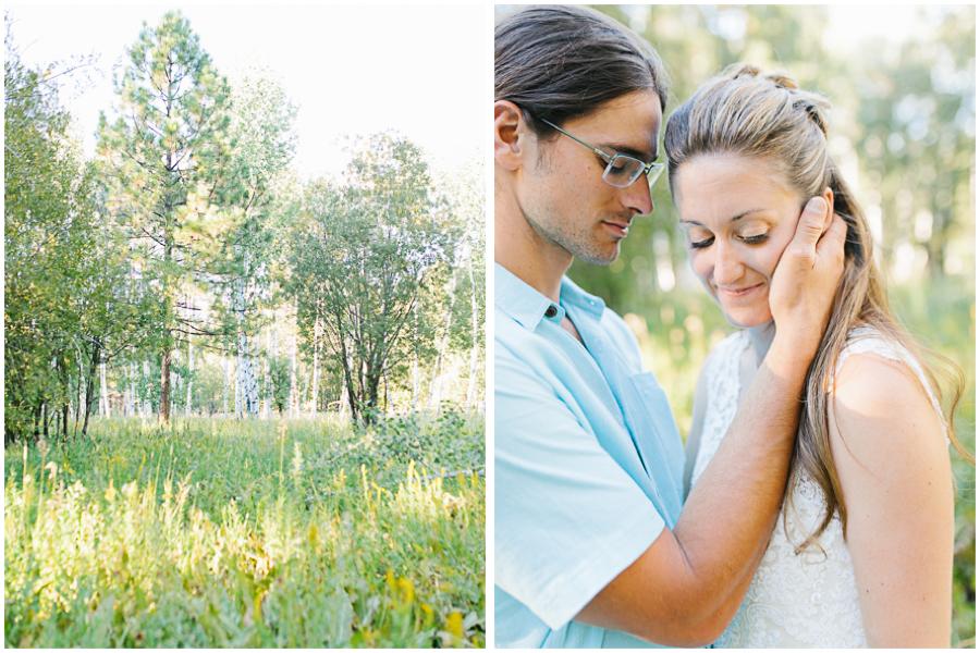 Leavenworth Washington Mountain Top | Wedding | Intimate Wedding Inspiration Outdoors | Pybus Bistro Wenatchee, Washington | VSCO | Simple Wedding | PNW Wedding | Bride and Groom Sunset Portraits in Meadow.jpg.jpg