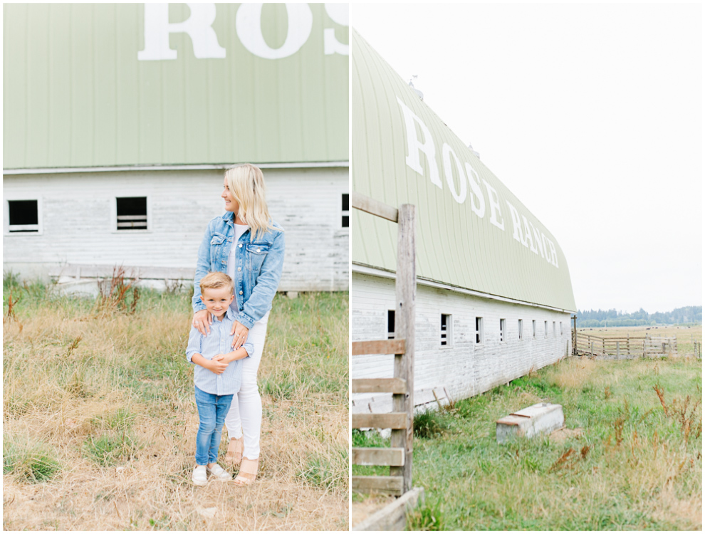 Rose Ranch Family Photo Session | Monika Hibbs Family Session in South Bend, Washington | What to Wear for Family Pictures | Pacific Northwest Family Session with Emma Rose Company | ERC.jpg
