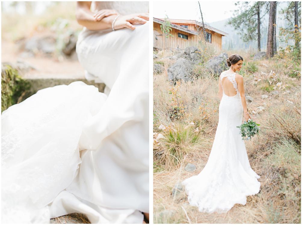 Grey and White Wedding in the Mountains of Leavenworth, Washington | Sleeping Lady | Classic and Timeless Wedding | VSCO | Bridal Portraits | Stunning Wedding Dress.jpg