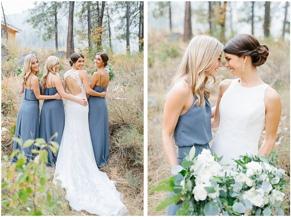 Grey and White Wedding in the Mountains of Leavenworth, Washington | Sleeping Lady | Classic and Timeless Wedding | VSCO | Bridal Party Portraits.jpg