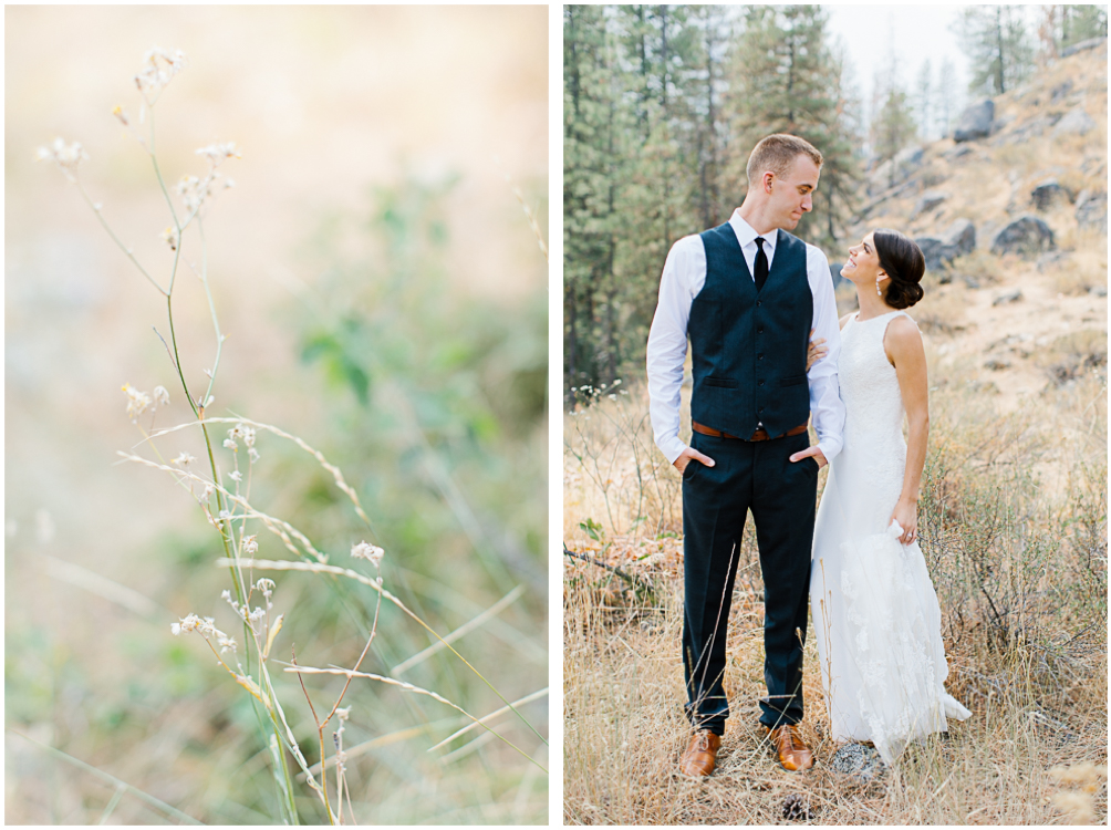 Grey and White Wedding in the Mountains of Leavenworth, Washington | Sleeping Lady | Classic and Timeless Wedding | VSCO | Bride and Groom.jpg