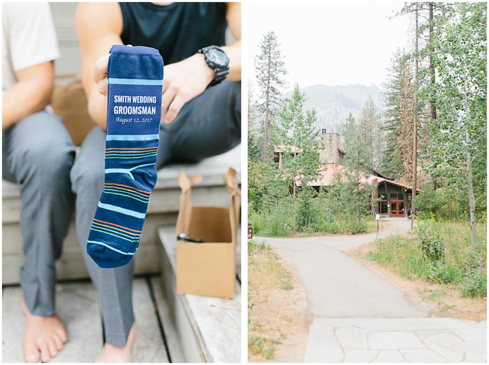 Grey and White Wedding in the Mountains of Leavenworth, Washington | Sleeping Lady | Classic and Timeless Wedding | VSCO | Groomsmen Socks | Groomsmen getting Ready.jpg