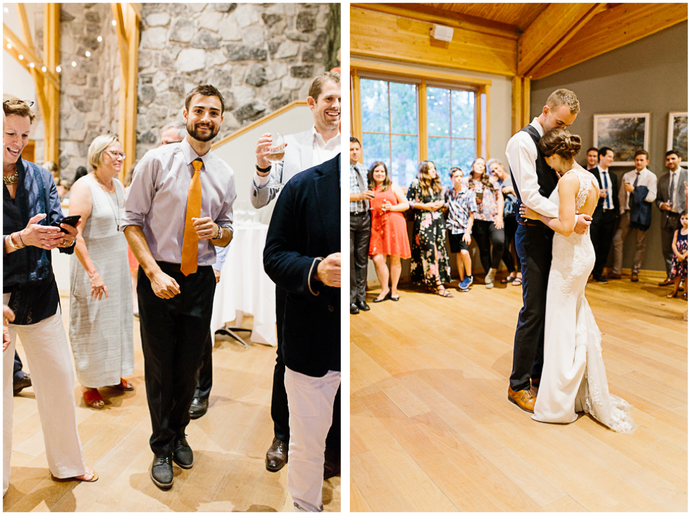 Grey and White Wedding in the Mountains of Leavenworth, Washington | Sleeping Lady | Classic and Timeless Wedding | VSCO | Sleeping Lady Resort Reception.jpg