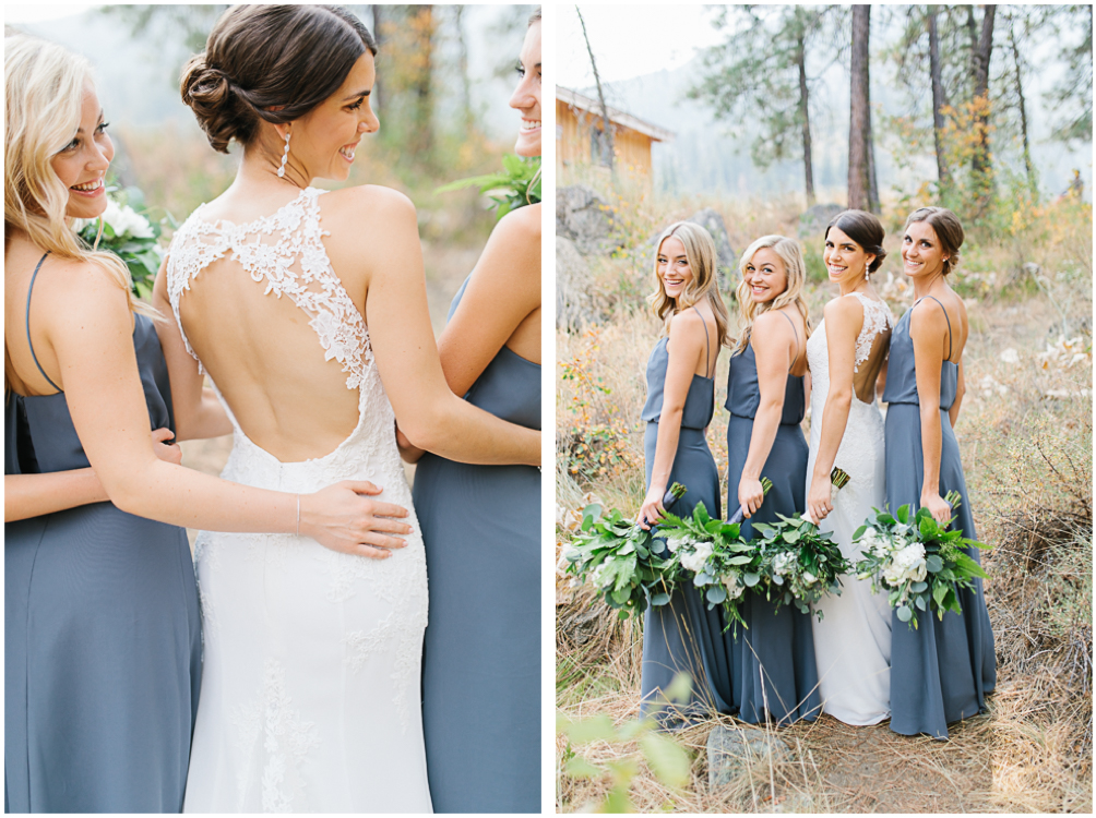 Grey and White Wedding in the Mountains of Leavenworth, Washington | Sleeping Lady | Classic and Timeless Wedding | VSCO | The Bridal Party Portraits in the Mountain.jpg