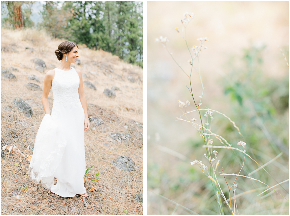 Grey and White Wedding in the Mountains of Leavenworth, Washington | Sleeping Lady | Classic and Timeless Wedding | VSCO | Wedding Day Bridal Portraits on Mountain.jpg