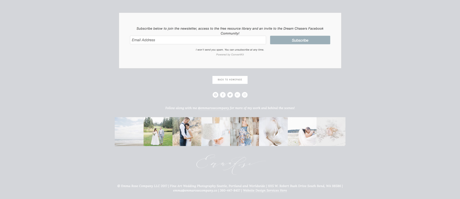 What Your Photography Website Needs to Stand Out