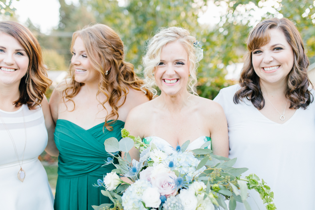 Stunning Fall Washington Wedding | PNW Bride Wedding | Seattle Wedding Photographer Light and Airy | VSCO | Emma Rose Company Photography | Hydrangea Wedding Dress | Wedding Details | Non Traditional Wedding Gown-100.jpg
