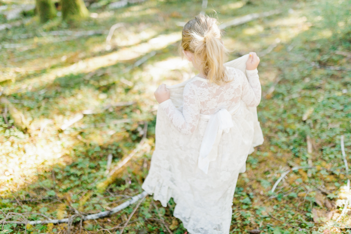 The most perfect fall photo shoot with toddler girl | What to wear to family pictures | Toddler girl in lace dress in woods and fields photo shoot | VSCO | Emma Rose Company | Toddler Outfit Inspiration | Long Lace Dress on Little Girl-12.jpg