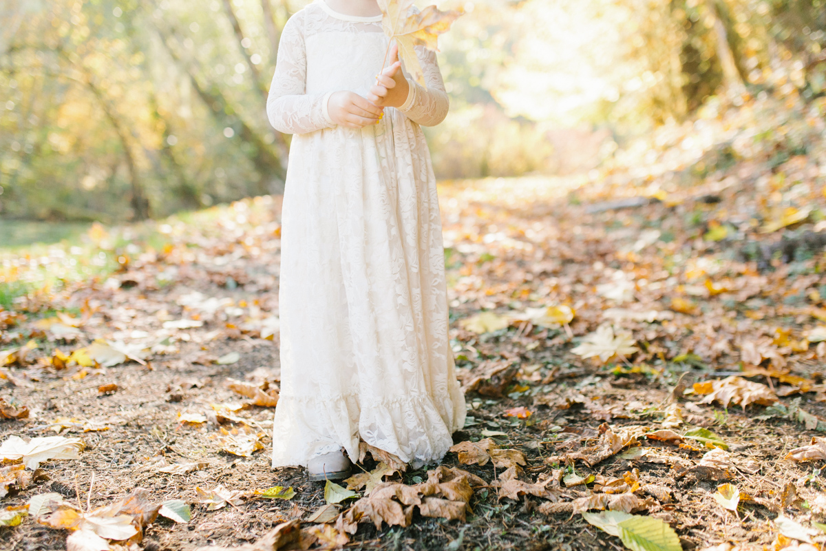 The most perfect fall photo shoot with toddler girl | What to wear to family pictures | Toddler girl in lace dress in woods and fields photo shoot | VSCO | Emma Rose Company | Toddler Outfit Inspiration | Long Lace Dress on Little Girl-22.jpg